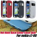 Super Net Hole Back Cover Case Skin For nokia c7 c7-00