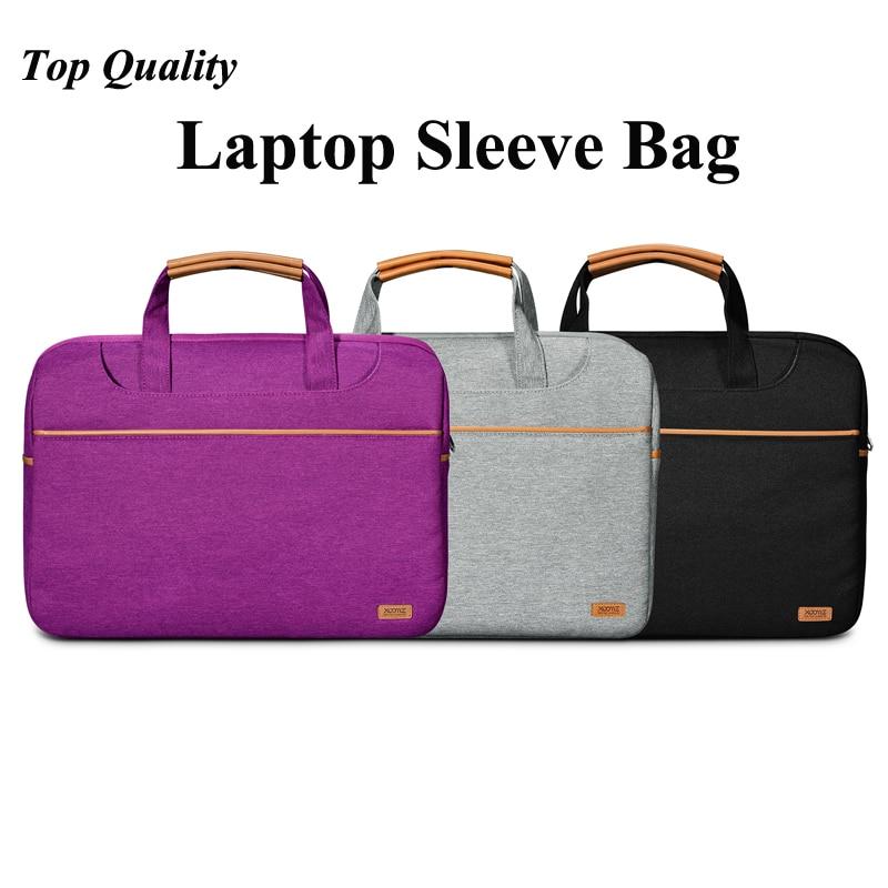 Top Quality Luxury 15.6 Laptop Sleeve Bag Men Women Case Cover For Macbook Pro 15 Laptop Messenger Bag