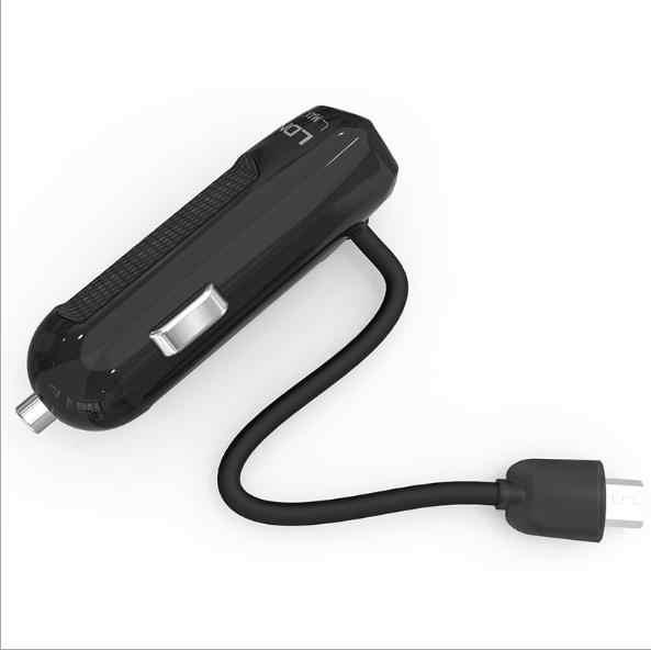 LDNIO DL-C25 1USB مع كابل مايكرو شاحن سامسونج غالاكسي هاتف أندرويد ذكي USB شحن 5 فولت ، 2.1A