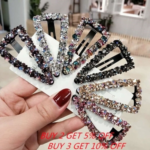 Fashion Girl Hair Claw Geometric Imitation Pearl Hairpin Crab Retro Heart Shape Crystal Hair Clips Hair Accessories For Women(China)