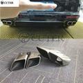 Silencieux pour Porsche Panamera 971 4S Turbo GTS 17-18 | Silencieux en acier inoxydable 970, pointes de sortie de queue d'échappement