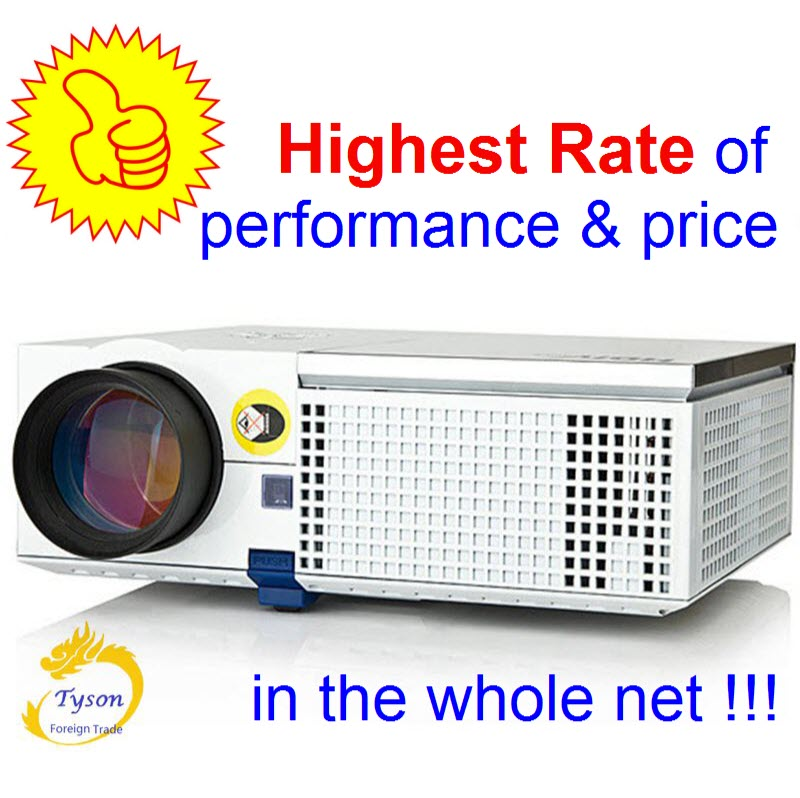 ViEYiNG LED projector HD 1920x1080 Home theater projectors 3D projector LCD Proyector Full HD projetor Pk led96 bt96 M5 Beamer small aluminum high temperature cooling fan blade metal vane 70mm diameter 6mm shaft