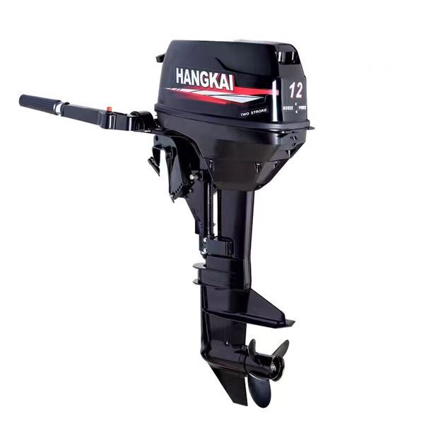 Hang Kai 12hp outboard motor for boat hook font b fishing b font boat fiberglass font