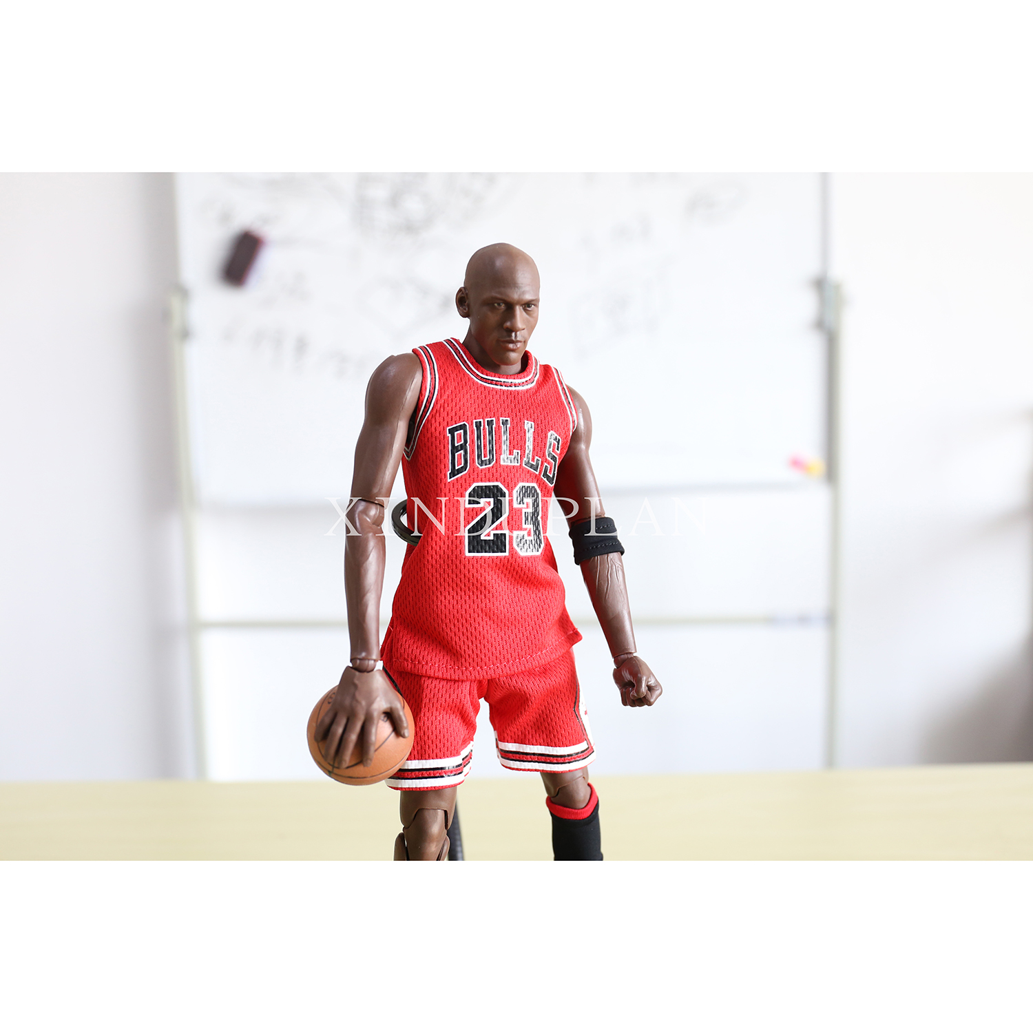 decffbdd311ae4 XINDUPLAN Michael Jordan 23 NBA Chicago BULLS 23 Action Figure Toys 1 6  34cm Large PVC Gift Collect Model 1053-in Action   Toy Figures from Toys    Hobbies ...