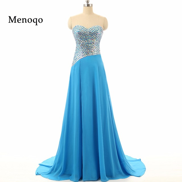 2018 Unique Design Sweetheart Handmade Beaded Prom Dresses Real ...