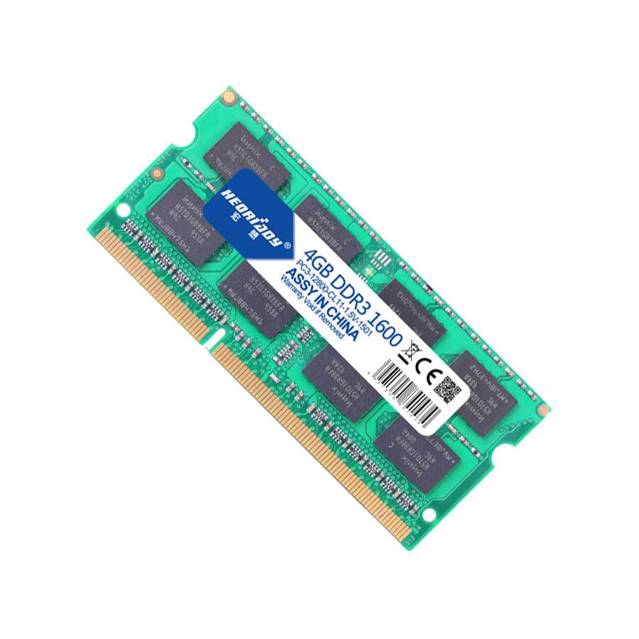 Ddr 3 ギガバイト 4 ラップトップのための 1600 mhz メモリ ram ddr3l macbook 互換 1333 mhz 4 ギガバイト 1.5 ボルト 1.35 ボルト