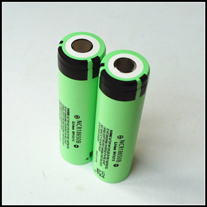 Free charger for <font><b>Panasonic</b></font> NCR <font><b>18650</b></font> B <font><b>NCR18650B</b></font> 3400mAh Dynamic Li Lithium ion MH12210 Rechargeable Battery Cell image