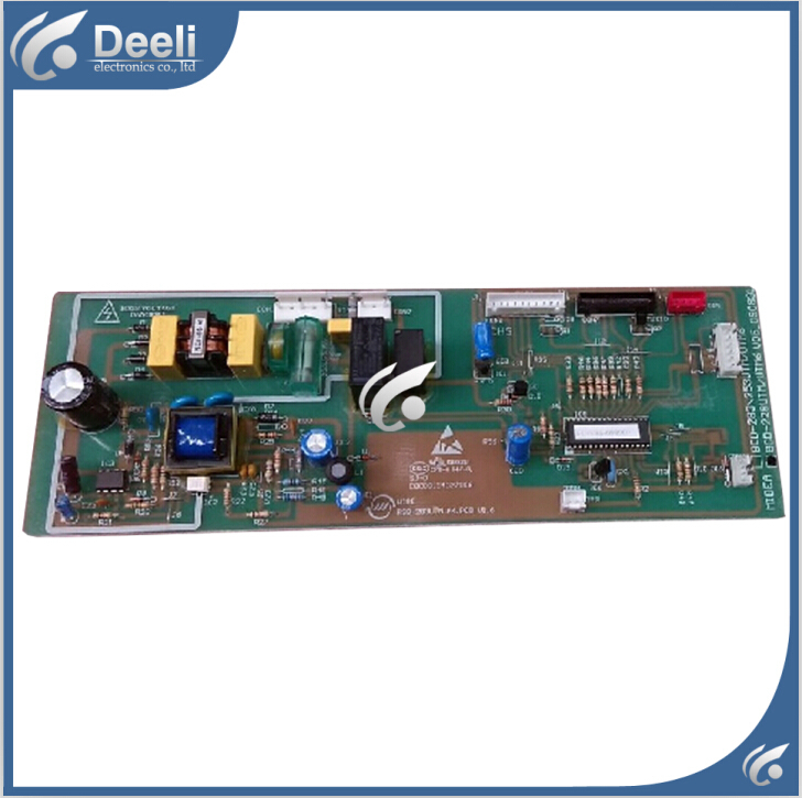 95% new good working for Midea refrigerator pc board motherboard control board BCD-228UTM on sale laidong km4l23bt for tractor like luzhong series set of piston groups with gaskets kit including the cylinder head gasket