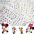 STZ 2016 77sheets Mixed Nail Sticker Sets Hot Cartoon Princess Mouse Duck Nails Tips Water Decals Decor Beauty for Nail Art M51