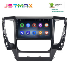 JSTMAX 9″Android 7.1 Quad core car radio gps Navi for Mitsubishi Pajero Sport 2017 2G+16G USB RDS audio stereo Multimedia HDMI