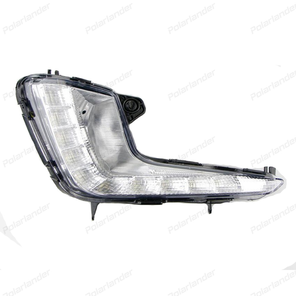 Running lights car styling for K/ia K/2 R/IO 2011 2013 With yellow blur white Turning Signal Lights