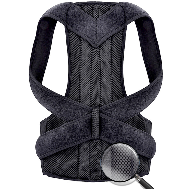 Bodywellness posture corrector corset for the back Humpback Correction of posture brace support Pain Relief corset