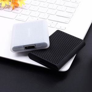 Image 5 - 2019 Newest Storage Travel Case Silicone Protective Cover for Samsung T5/ T3 Portable External SSD Solid State Drive