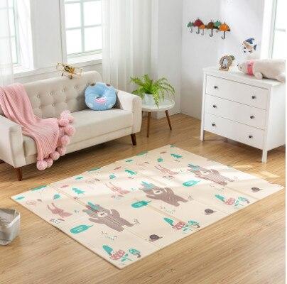 Pliable bébé tapis de jeu épaissi maison bébé chambre Puzzle tapis XPE épaisseur