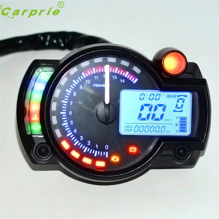 Dependable Car Styling Backlight Lcd Digital Motorcycle