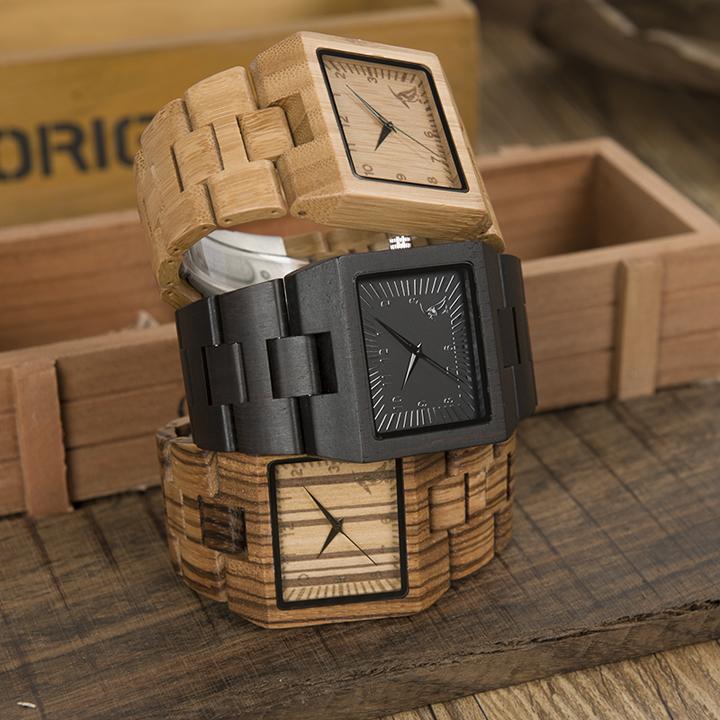 squar wood watch men (31)