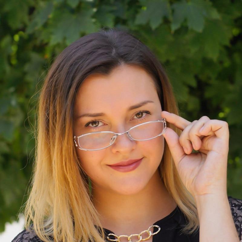 Alloy Women Metal Butterfly Eyeglasses Frame Optical Prescription Glasses For Female Fashion Eyewear Spectacles Frame Optical