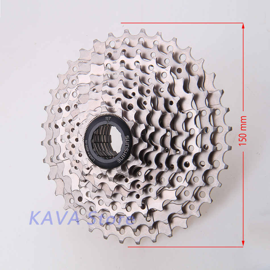 SUNSHINE 9S 11-36T Free Wheels MTB Bicycle Flywheel 9 Speed Cassette flywheel 11-36T Compatible for Parts M370 M390 M3000 M4000