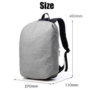 Image 4 - 新しい防水 15.6 インチのラップトップバックパックバッグ男性バックパック旅行十代の肩バックパック男性大学生スクール mochila