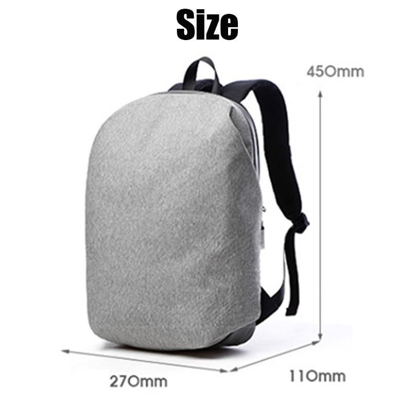 Image 4 - New Waterproof 15.6inch Laptop Backpack Bag Men Backpacks Travel Teenage Shoulder Backpack male college students School mochila-in Laptop Bags & Cases from Computer & Office