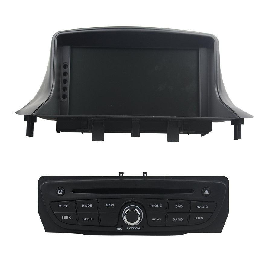 ELANMEY premium car gps navigation For RENAULT <font><b>Megane</b></font> III <font><b>3</b></font> Fluence 8-core <font><b>android</b></font> 8.0 CAR DVD player multimedia radio stereo HU image