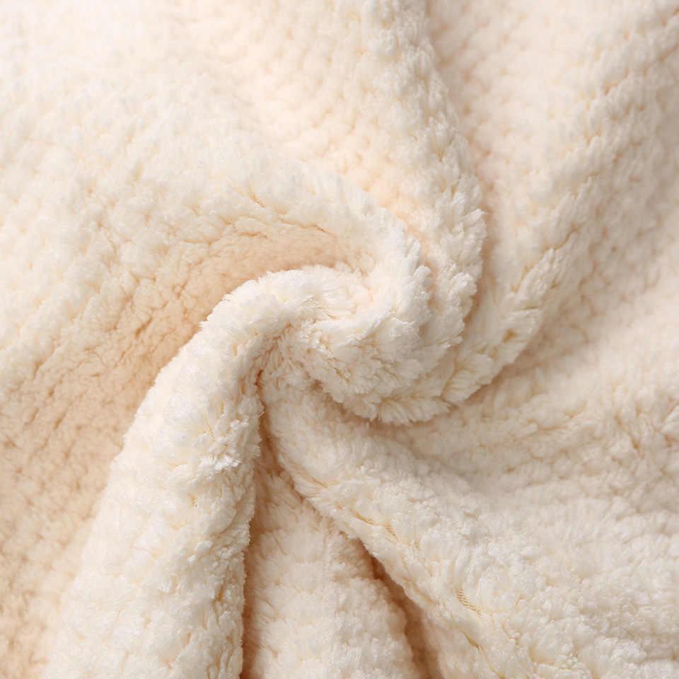 Nowy Hot moda ręcznik z mikrofibry Super chłonne miękkie suchy ręcznik do włosów śliczne niedźwiedź podróży ręcznik do kąpieli twarzy ręczniki kreatywny prezent