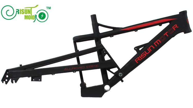 Electric mountain bike frame / all terrain / soft tail / shock absorber electric bicycle frame - 2