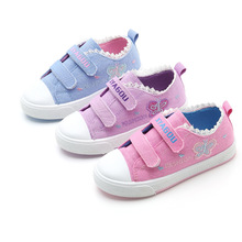 Children Kid Canvas Shoes Girls Sport Casual Shoes Baby Girls Student Sneakers 3T 4T 5T 6T 7T 8T 9T 10T 11T 12T 13T 14T