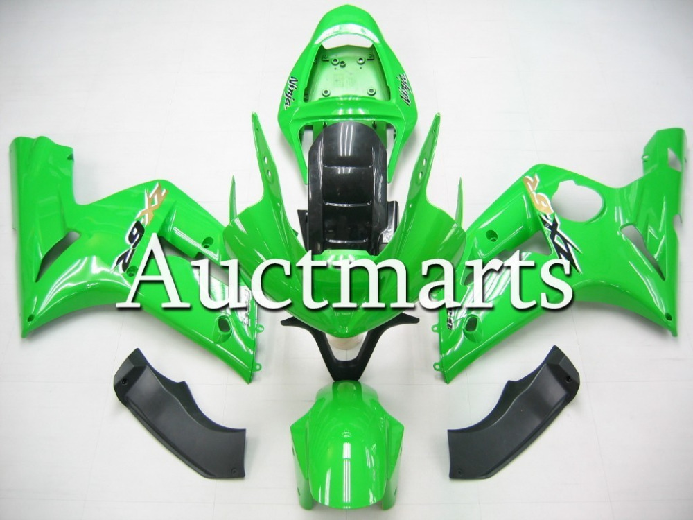 Fit for kawasaki ZX-6R 2003 2004  high quality  ABS Plastic motorcycle Fairing Kit Bodywork ZX6R 03-04 Motor black windscreen windshield for kawasaki zx6r zx 6r zx 6r zx636 2003 2004 2003 2004