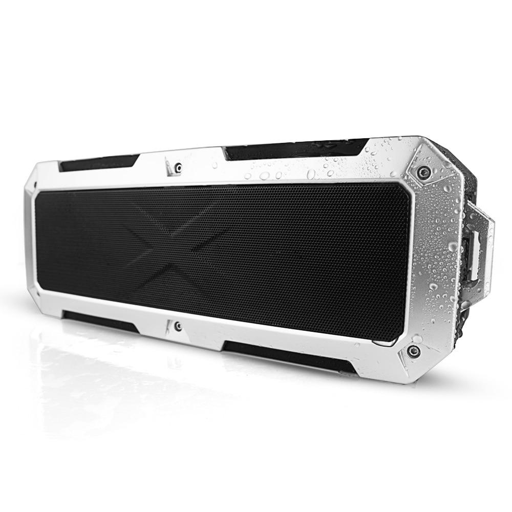 2*10W Powerful Super Bass Wireless Bluetooth Speakers IP67 Waterproof usb portable speaker for phone computer hifi Mp3 Box 5200m