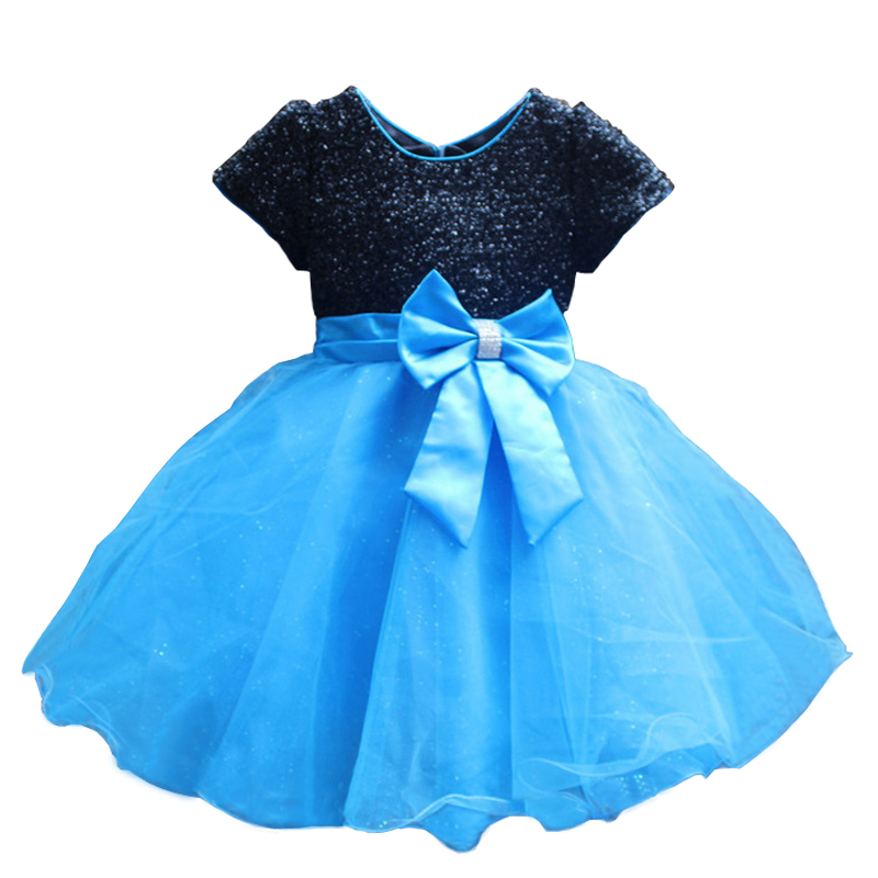 2016 New Brand Hot Fashion Princess Girl Dress Kids Baby Girl Dress Children Clothing Dress Girls Cosplay Applies 3-10 Age