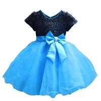 2016 New Brand Hot Fashion Princess Girl Dress Kids Baby Girl Dress Children Clothing Dress Girls Cosplay Applies 3 10 Age