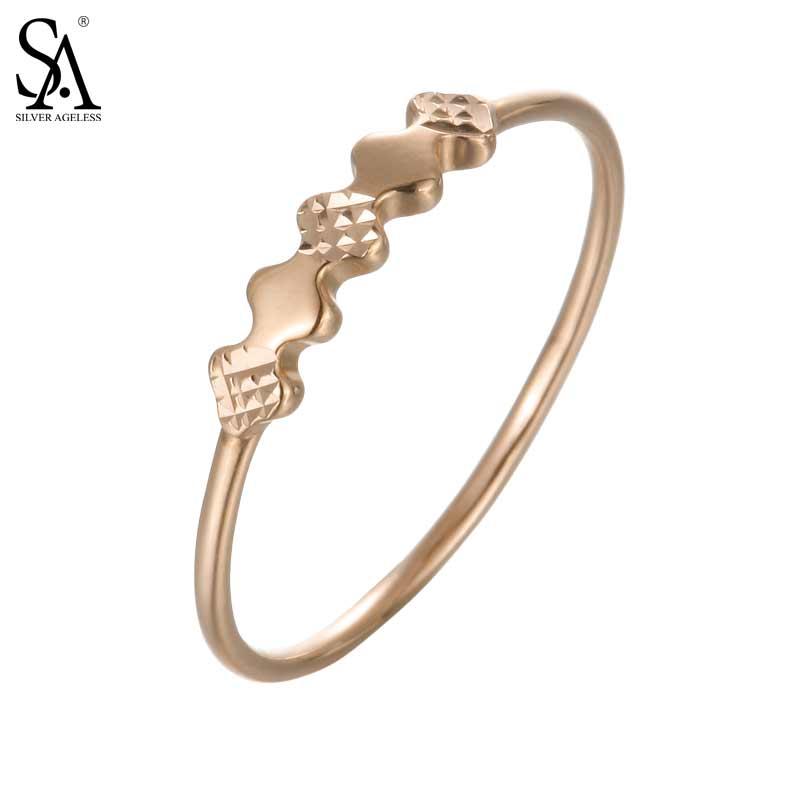 Здесь продается  SILVER AGELESS 18K Yellow Gold Fish Bone Style Wedding Rings for Women Fine Jewelry 2017 New Arrival   Ювелирные изделия и часы
