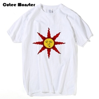 Praise The Sun T Shirt Men Game Dark Souls T Shirt Fashion Men Tshirt Cotton Summer