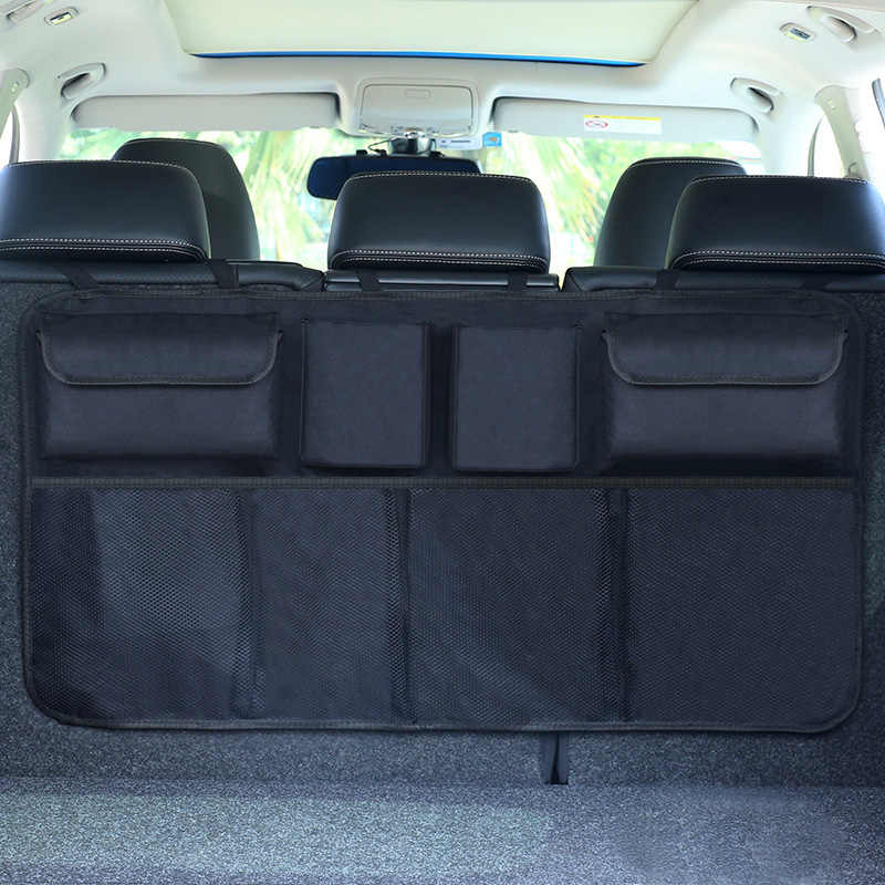 Bolsa de almacenamiento de coche,Tickas Bolsa de autom/óvil de bolsa de almacenamiento de asiento trasero de maletero organizador de autom/óvil SUV
