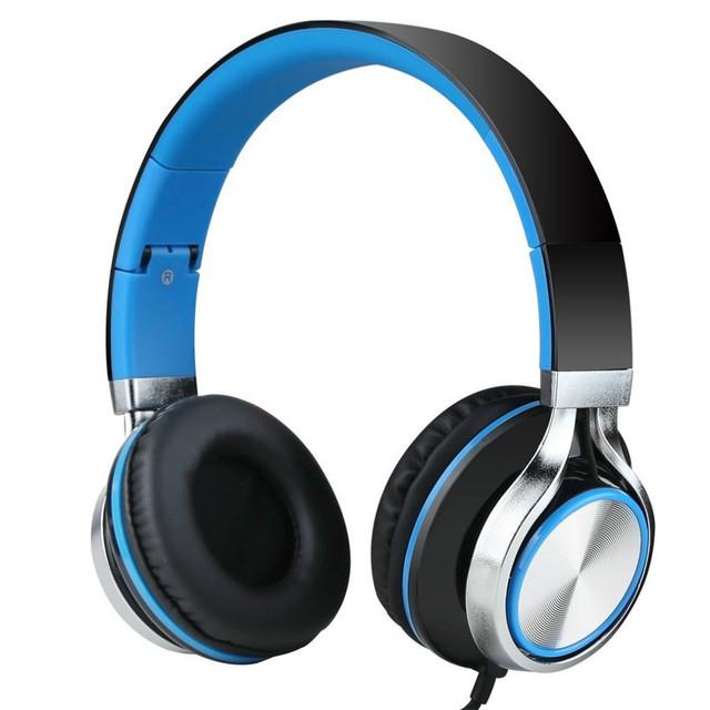 Sonido Entonan Ms200 Estéreo Auriculares Bajo Fuerte Auriculares Para Ordenador portátil Mp3 Mp4 Smartphones Tablet Plegable Auriculares