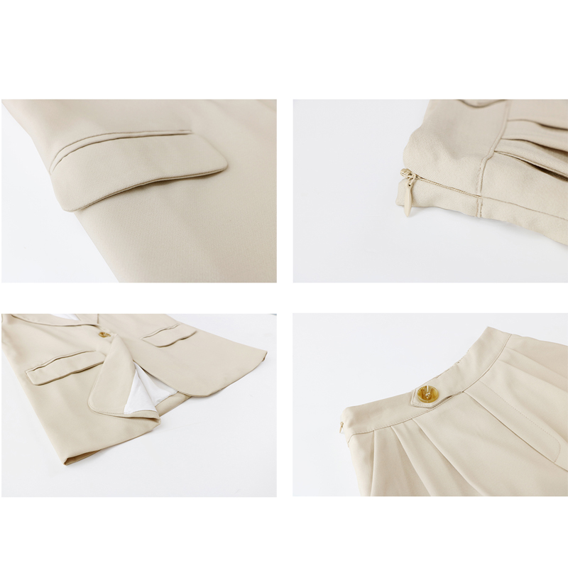 BGTEEVER Summer Pure Color Short Suits for Women Stylish Blazer & Hot Shorts Female Pant Suit Casual  2 Piece Set 2019 Feminino