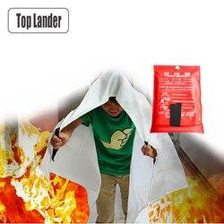 Awaryjne włókno szklane koc gaśniczy osłona bezpieczeństwa przetrwanie ogień ognioodporny ognioodporny ognioodporny koc pierwszej pomocy w Bezpieczeństwo i przetrwanie od Sport i rozrywka na