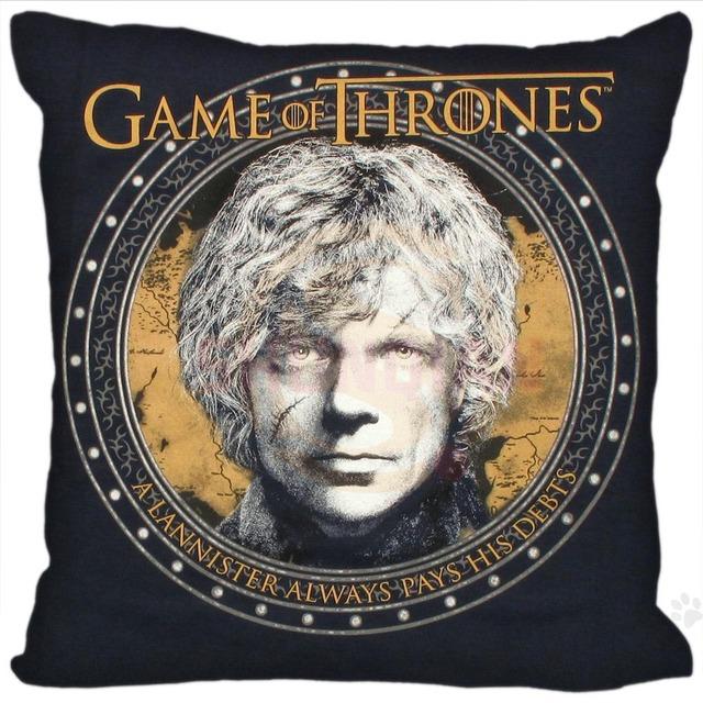 Game of Thrones Duplex Print Custom Pillow Case