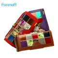 FONMOR Fashion Genuine Leather Women Wallets Patchwork Hasp Coin Pocket Female Clutch Carteira Feminina Women Purse Wallet