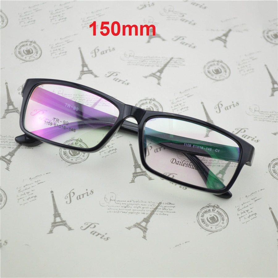 Vazrobe 150mm Superdimensionada Óculos Quadros Homens Mulheres Óculos TR90  Rosto Largo Óculos de Prescrição Óculos de 43b099fea3