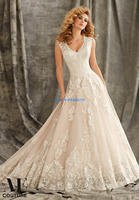 Greek Style Wedding Dresses A Line Vestidos De Novia Lace Top Sexy V Neck Bridal Gowns