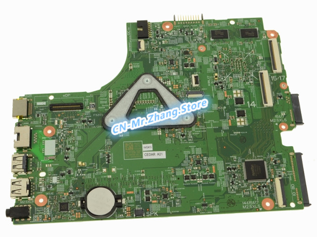 SHELI FOR Dell Inspiron 3543 Laptop Motherboard FX3MC CN-02GD89 02GD89 2GD89 W/ i5-5300U CPU GT820M GPU DDR3