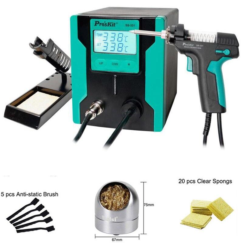 Electric Vacuum Desoldering Pump Automatic Desoldering Gun Solder Sucker Gun For Computer Mobile Phone Repair Workshop