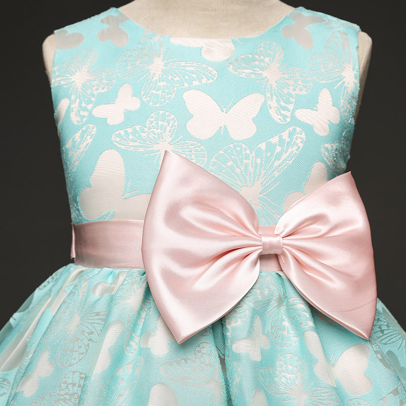 8548b5776 Wedding Party Princess Girl Dress Children Baby Wear 4 5 6 8 10 ...