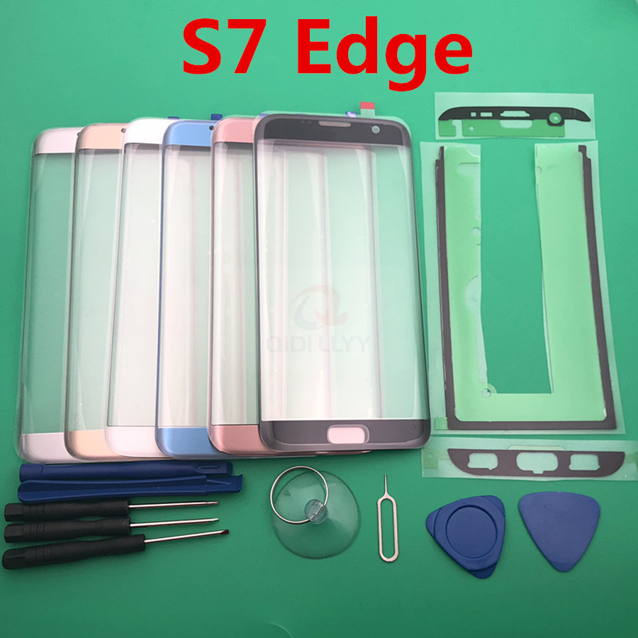 Replacement External Glass For Samsung Galaxy S7 Edge G935 G935F LCD Display Touch Screen Front Glass External Lens