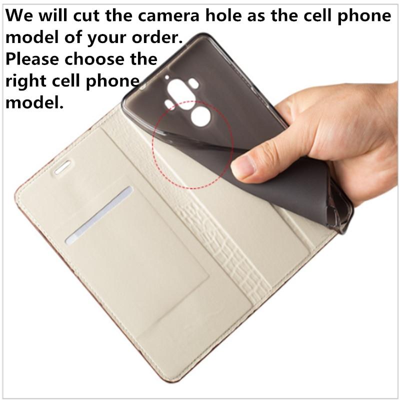 Image 4 - For OPPO Reno Langsidi Genuine Leather Business Phone Case For  OPPO RX17 Neo OPPO RX17 Pro Realme 3 Pro Realme x Flip Case CoqueFlip  Cases