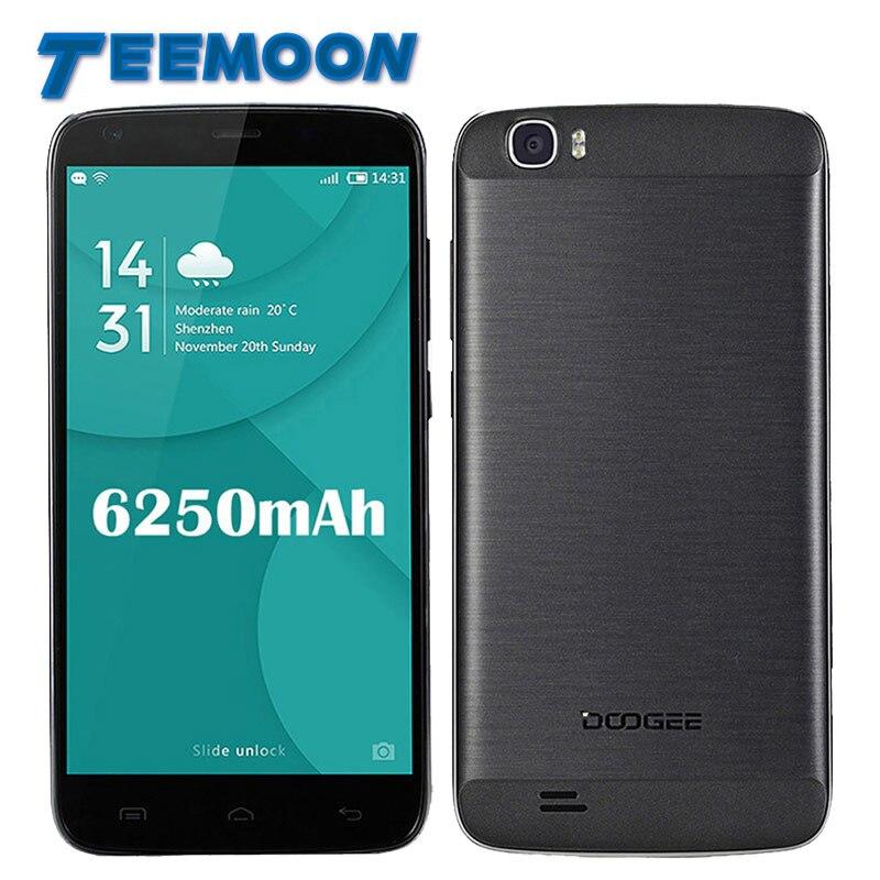 bilder für Doogee T6 Pro 4G LTE Smartphone Android 6.0 MTK6753 Octa-core 3 GB RAM 32 GB ROM 13.0MP Kamera 6250 mAh 5,5 inch Bildschirm Handy