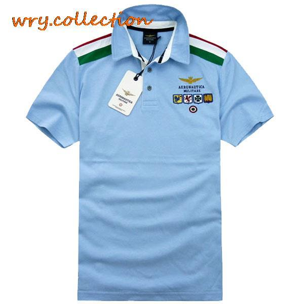 aeronautica militare   polos  ,air man   polos   shirt,5 colors men clothes dress free shipping