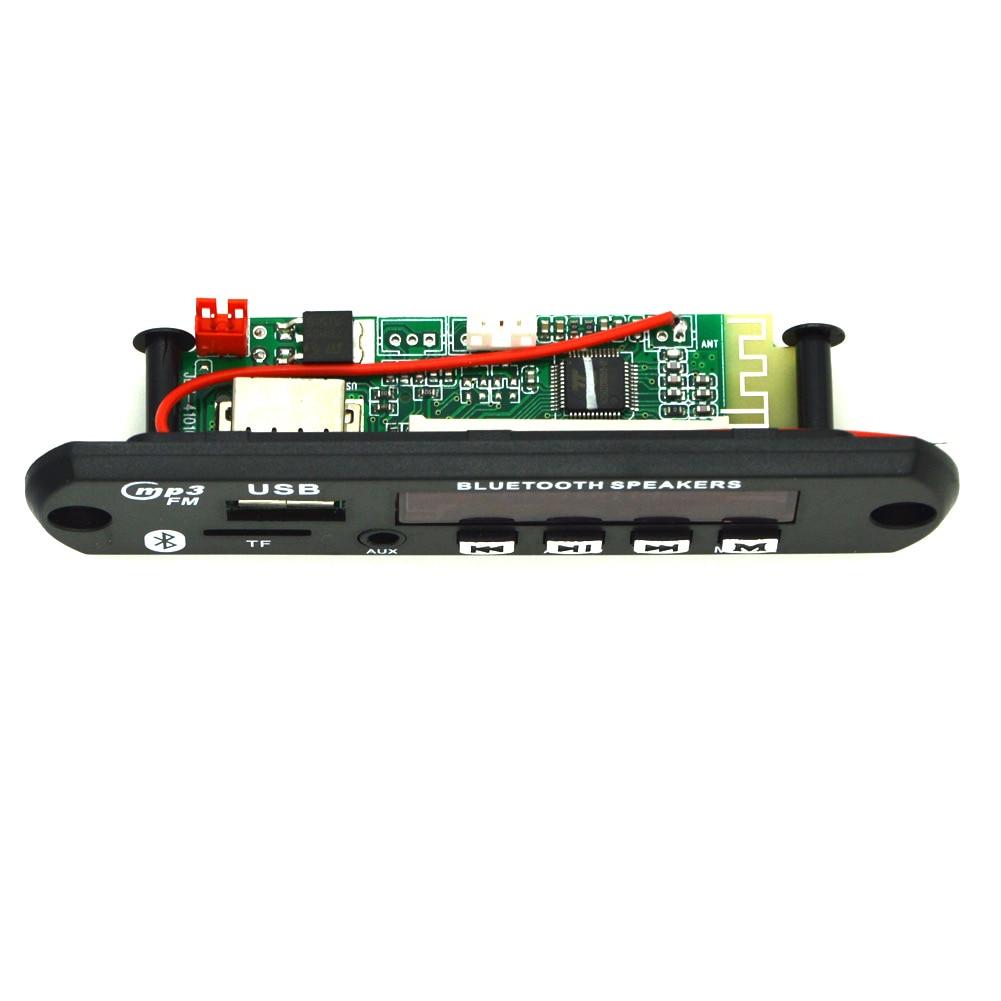 где купить New Wireless Bluetooth 12V MP3 WMA Decoder Board Audio Module TF USB Radio For Car CSL2017 по лучшей цене